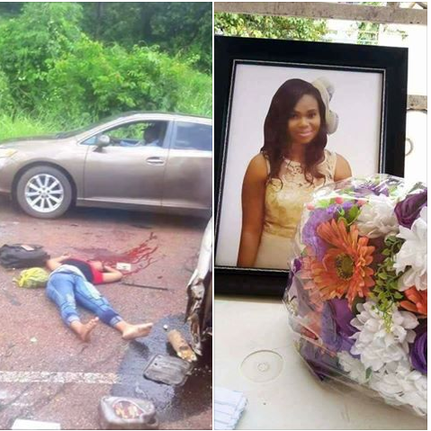 Young Lady Dies In Fatal Accident While Traveling For UNIZIK Post UTME (Photos)