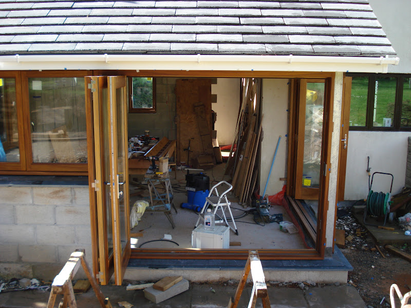 The sliding gear is Centor E3 top hung which came in at about £500 per set of doors. Glazing was £550 in total for Planitherm Total+ with Argon fill. & External Folding Sliding (Bifold) Doors - loads of WIP pics ... pezcame.com