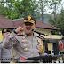 Kapolres Sukabumi Bacakan Amanat Kapolri dalam Apel Persiapan Pengamanan Pemilu 2019