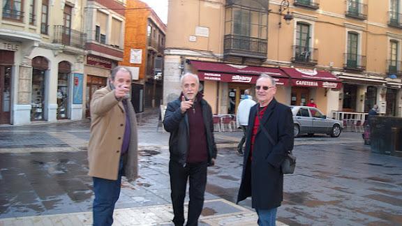 Rafael Calle, Julio González Alonso y Víctor F. Mallada