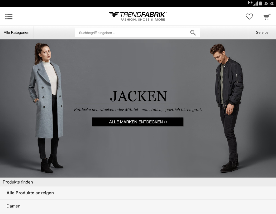 Trendfabrik- screenshot