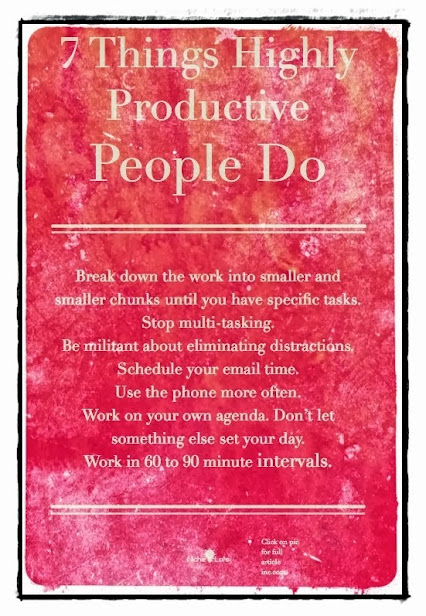 7-Things-Highly-Productive-People-Do