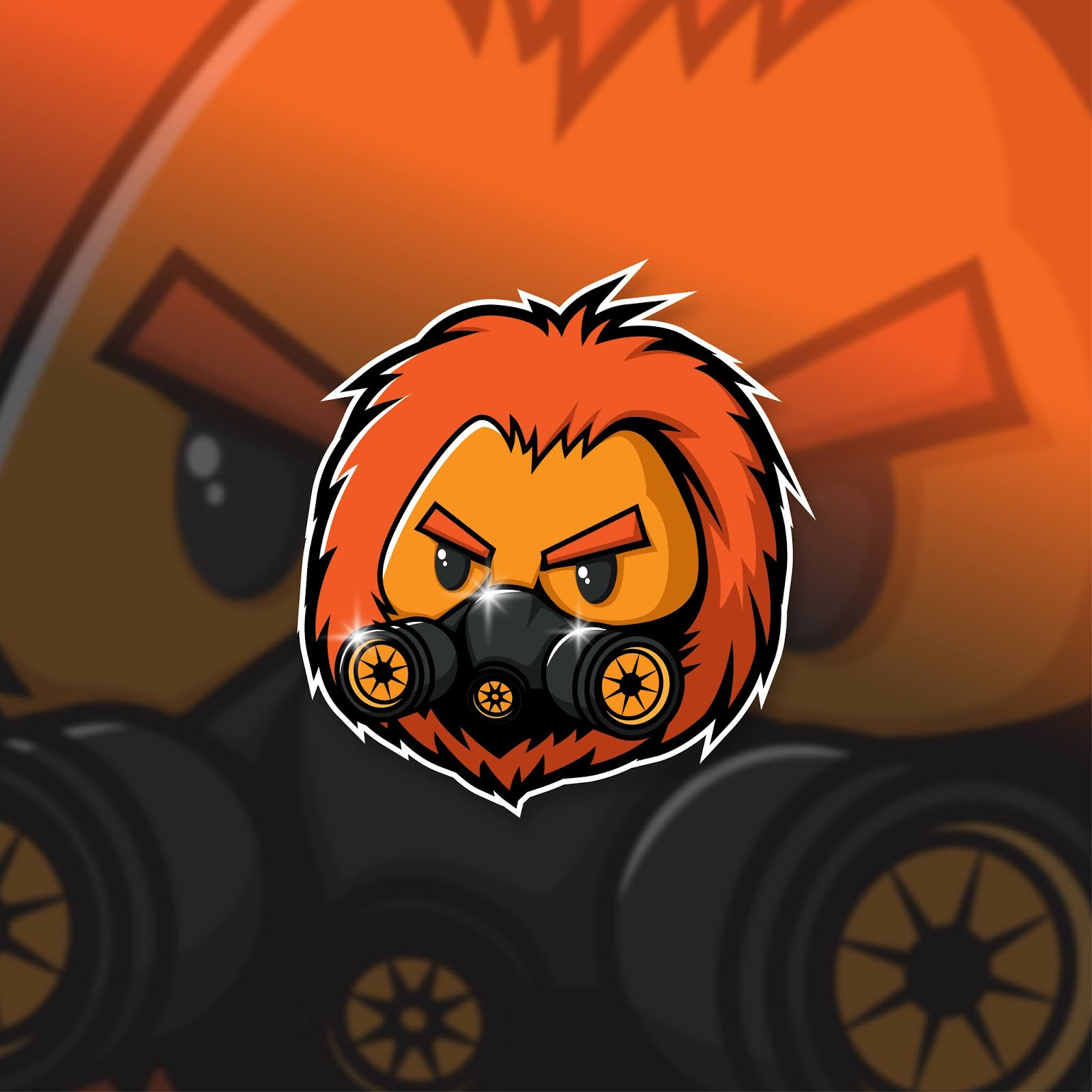 Esports Mascot Logo Team Lion Squad Free Download Vector CDR, AI, EPS and PNG Formats