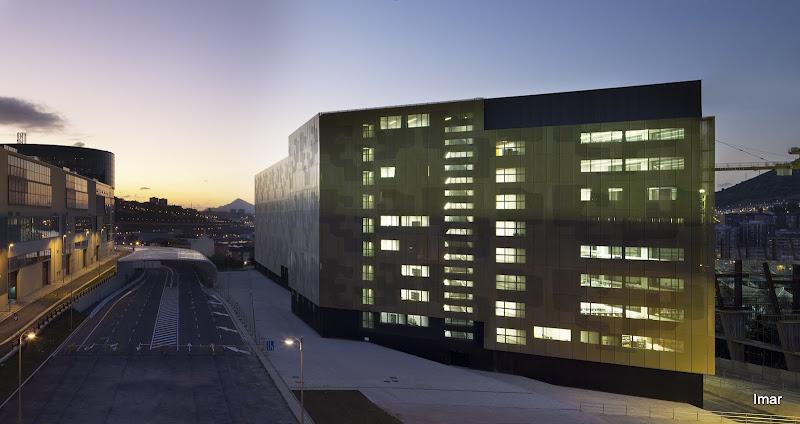 Imar arquitectura metal architecture metal euiti - Estudio arquitectura bilbao ...