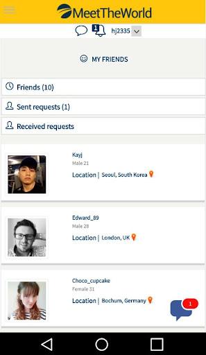 MeetTheWorld : FREE Online Dating 17013010 screenshots 5