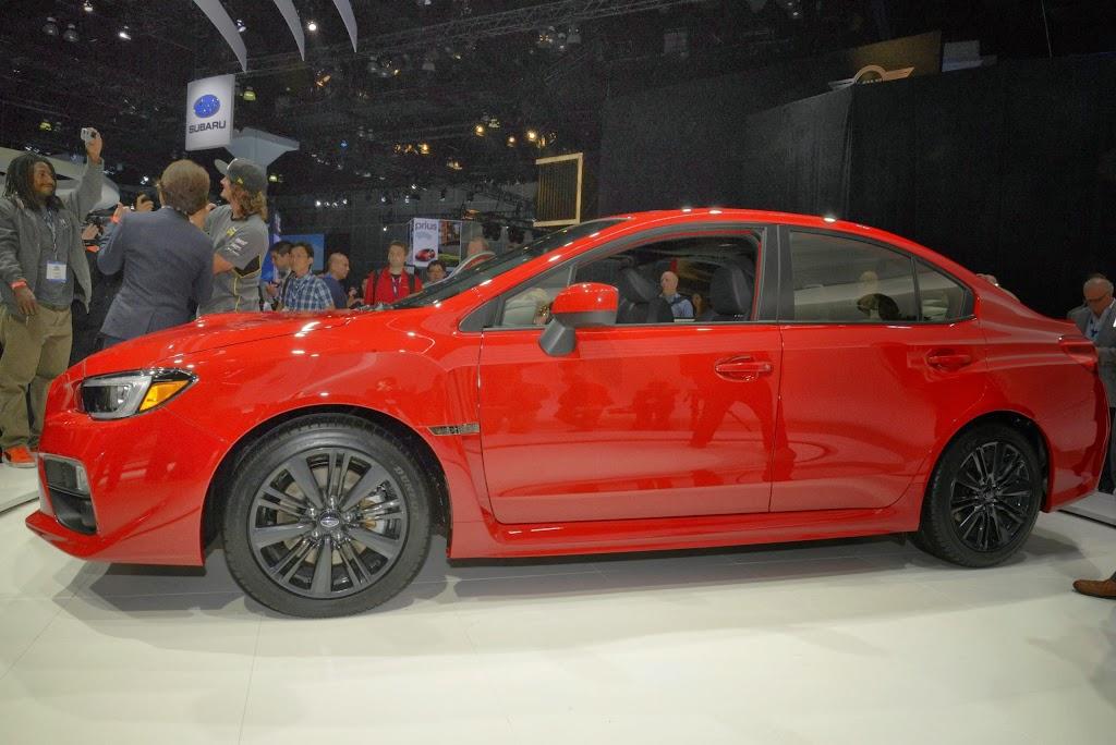 2015 Subaru WRX Los Angeles Auto Show 4