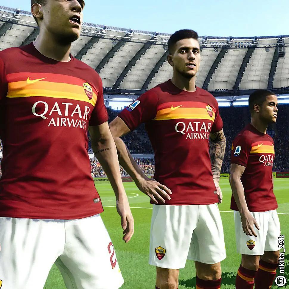 Berita Bocoran Jersey As Roma musim 2020/2021