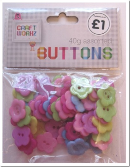 The Works Flower Buttons Childrens Crafts