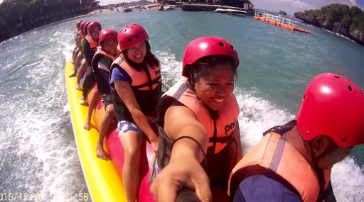 Hundred Islands, Banana Boat Ride