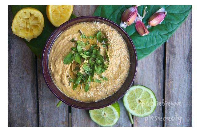 Hummus - pasta ze zdrowej cieciorki