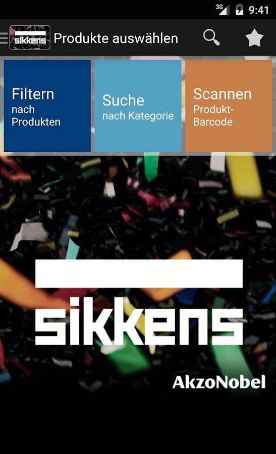 Sikkens DE- screenshot