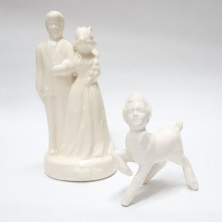 Megan Bogonovich Figurine Pair