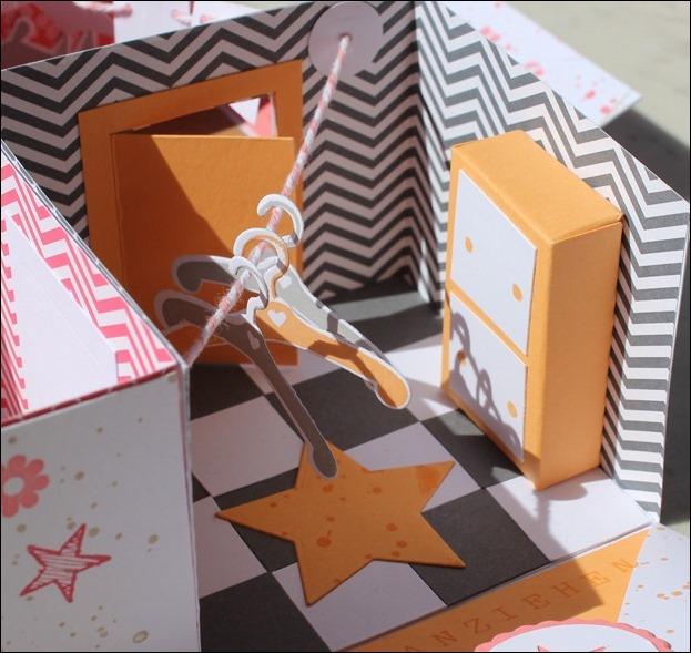 Baby Explosion Box vierfach Kinderzimmer Kinderwagen Garten Girl 07