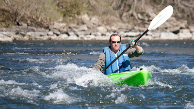 Jason on the Housatonic River with HRCKC by Tom Hart.