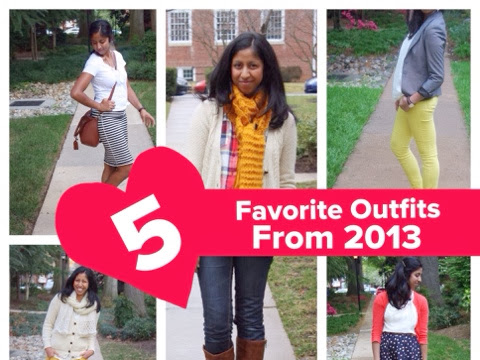 5 Favorite Outfits of 2013