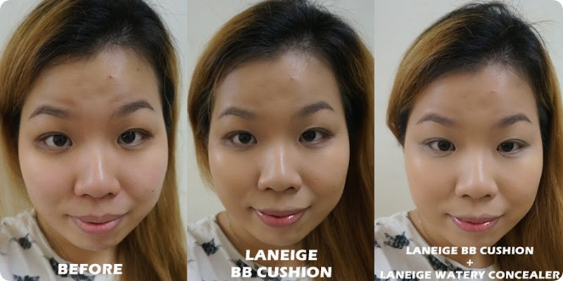 Laneige Pore Control Bb Cream Cushion Highlighter Natural Cushion