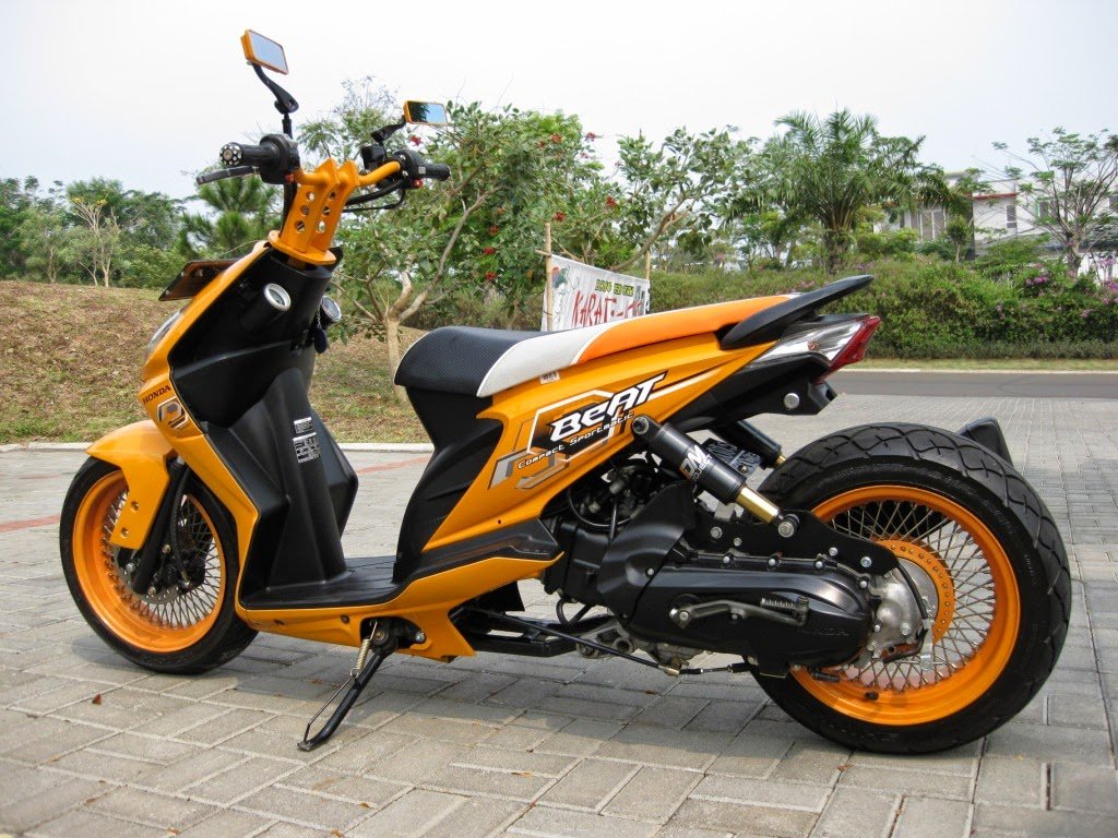 Vario Techno 110 Modifikasi Velg 17
