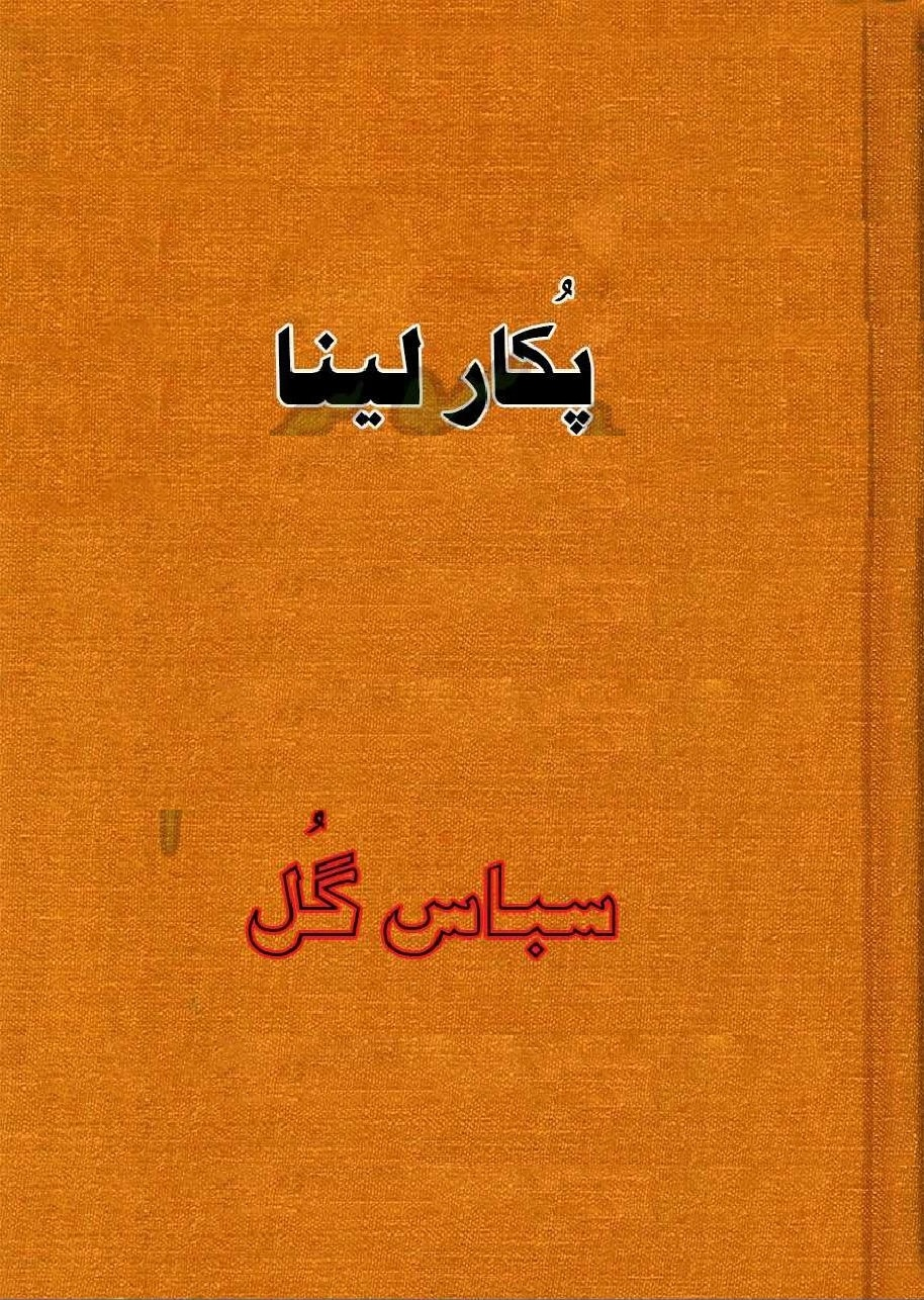 Pukar Lena is a very well written complex script novel which depicts normal emotions and behaviour of human like love hate greed power and fear, writen by Sabas Gul , Sabas Gul is a very famous and popular specialy among female readers