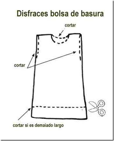 disfraz bolsa de basura 1
