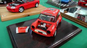 1:24 Mini race car