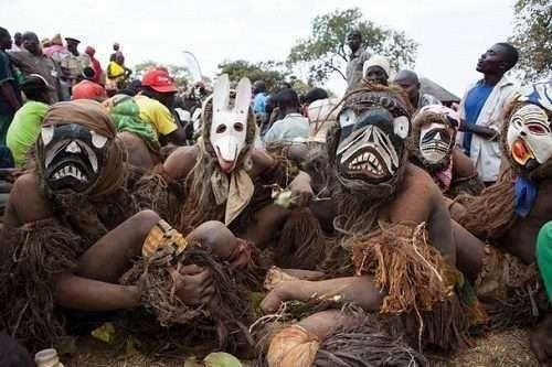 Festival of the dead- Bantu tribe, Malawi