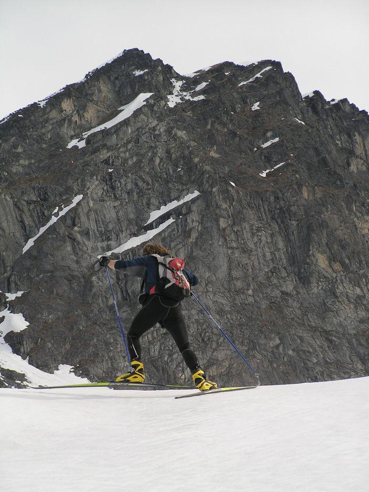 Crust Ski To Reed Lakes - P5190036.JPG