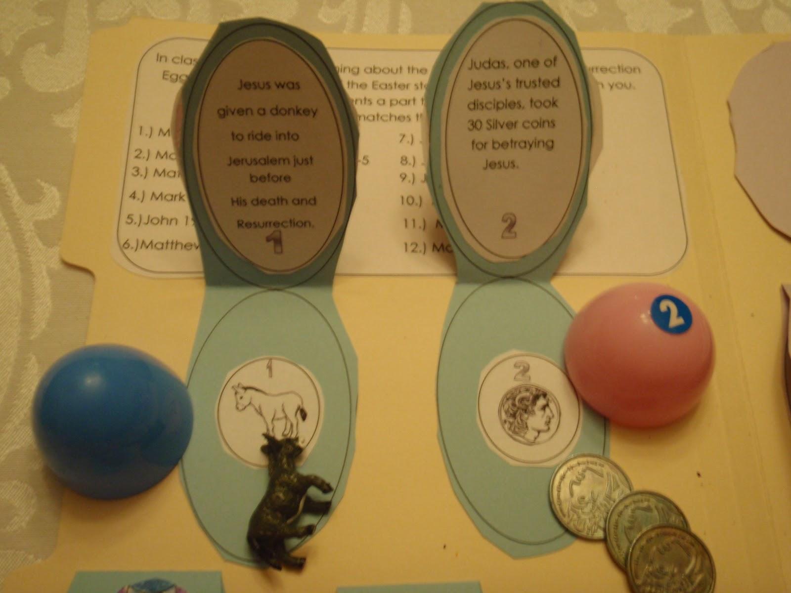 Resurrection Eggs Idea With Printables