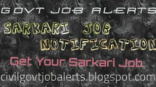 Civil Govt Job Alerts