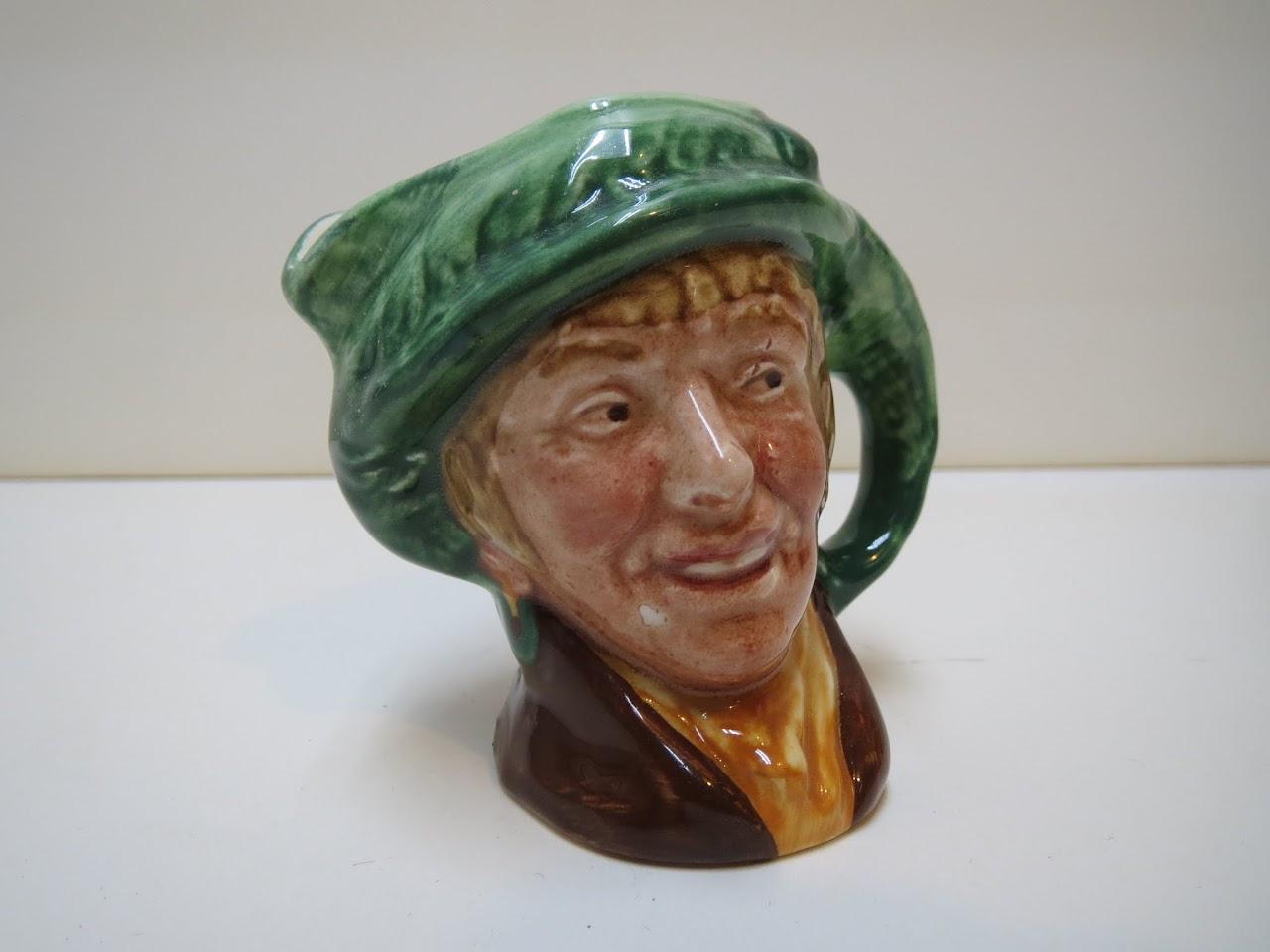 """Royal Doulton """"Arriet"""" Miniature Toby Jug"""