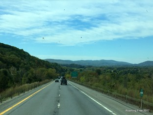 I-84 through New York