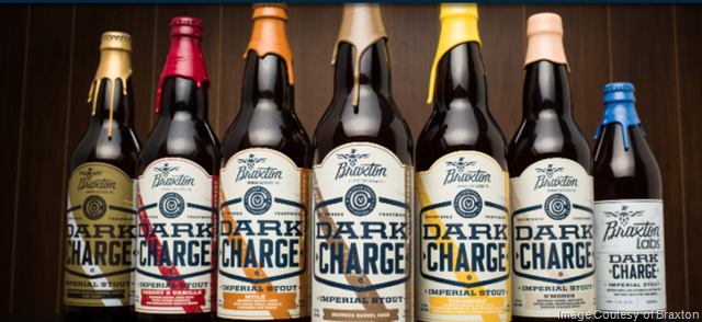 Braxton Brewing 2017 Dark Charge 3 Month Tasting Notes