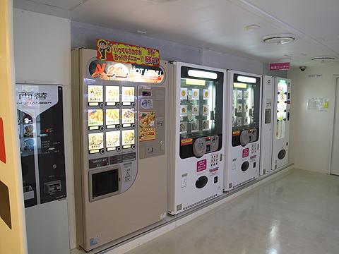 川崎近海汽船「シルバープリンセス」 6デッキ オートレストラン その1
