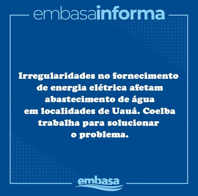 Irregularidades no fornecimento de energia elétrica afetam abastecimento de água em localidades de Uauá