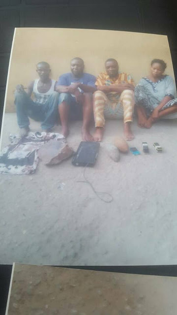 Notorious Female Badoo Member Arrested Alongside Others in Ikorodu (Graphic Photos)