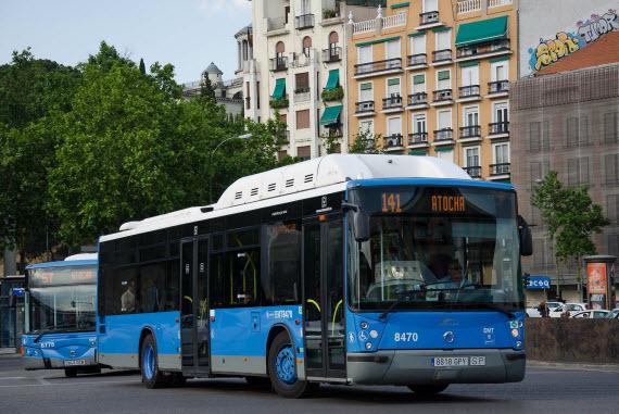 La EMT cambia el nombre a 19 líneas de autobús