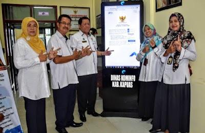 Dukung BPS, Diskominfo Kapuas Sosialisasikan SP2020