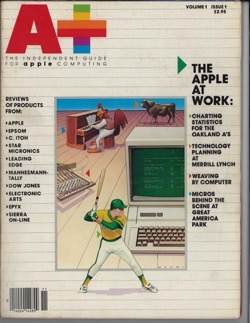 Historical Technology Books: A+: The Independent Guide for Apple Computing (Volume 1, Number 1) (1983) - 13 in a series