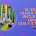 15 Ide Kado Ulang Tahun Untuk Anak Laki-Laki Usia 1-3 Tahun