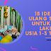 15 Ide Kado Ulang Tahun Untuk Anak Laki-Laki Usia 1-3 Tahun