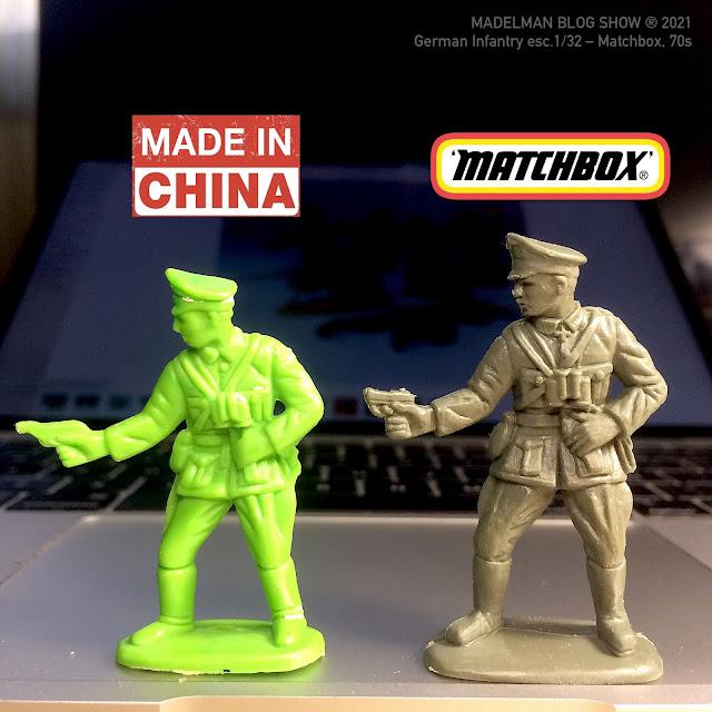 Soldado Matchbox original vs soldado made in china