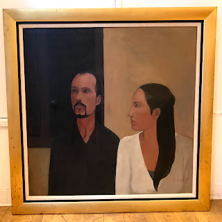 Carolina Ruscio Signed Painting