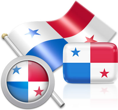 Panamanian flag icons pictures collection