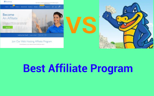 Bluehost vs Hostgator affiliate program