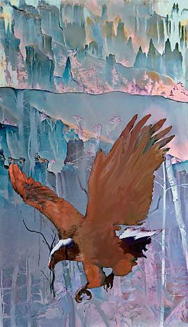 """The """"Canyon Flight"""" piece from the """"2007"""" collection"""