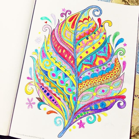 Research Shows That Adult Coloring Books Enjoy Immense Popularity Not Only Because Its A Great Way To Pass Time But Also Of Therapeutic