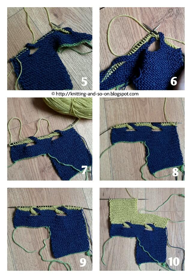Knitting And So On Garudasana Yoga Socks