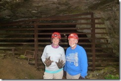 Happy muddy cavers