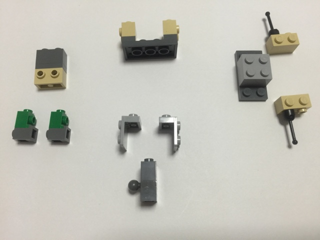 Afol Lego Parts Brickheadz Antman Instruction