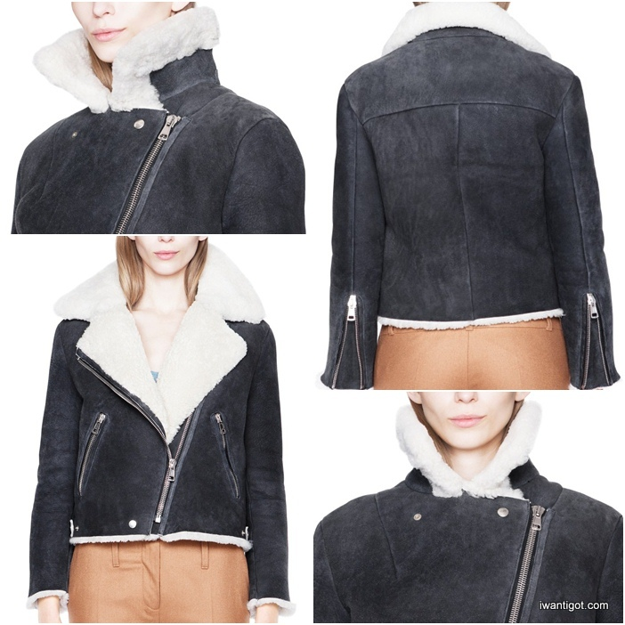 Velocite Shearling Jackets by Acne