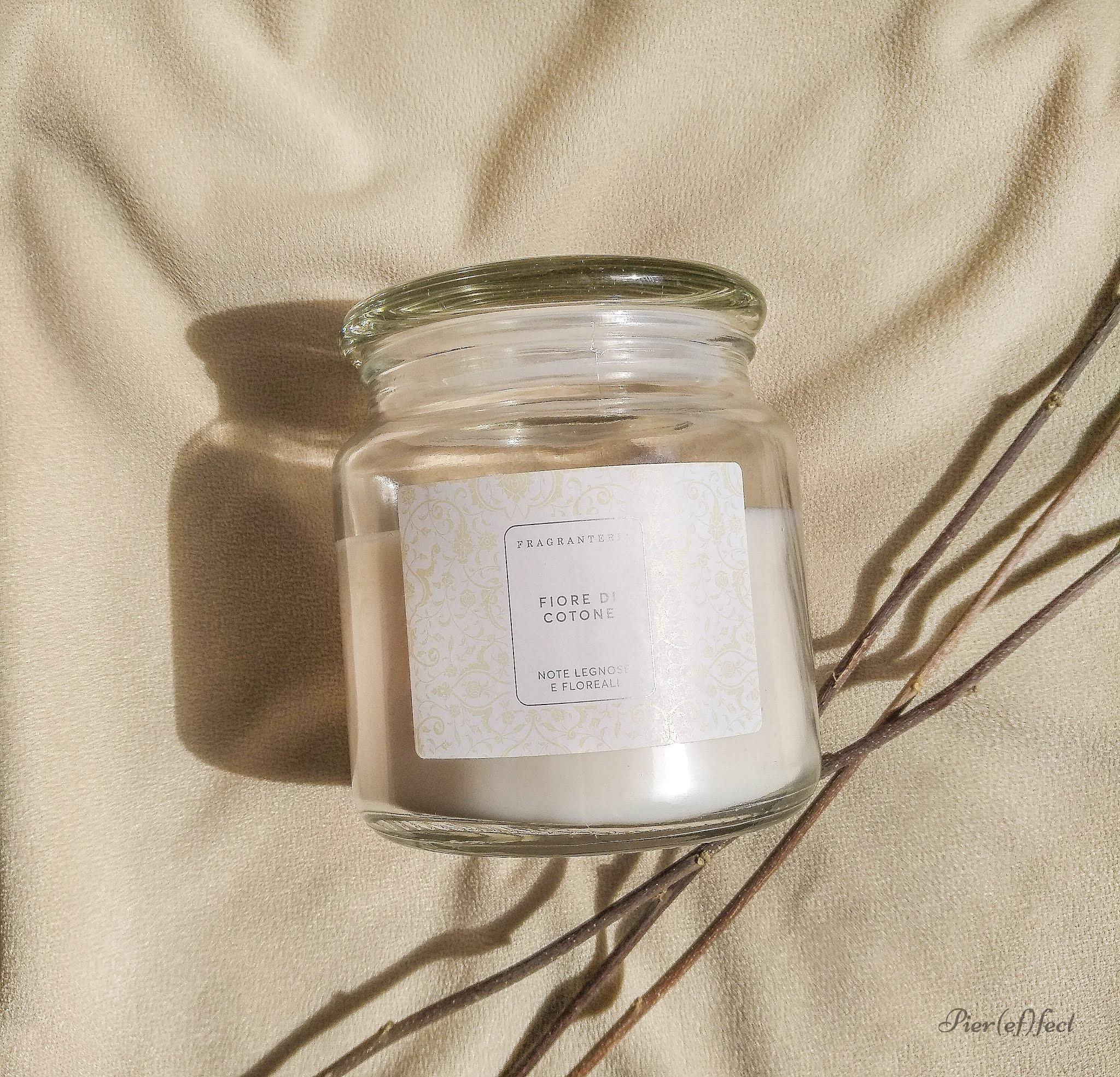 candele profumate fragranteria Tigotà